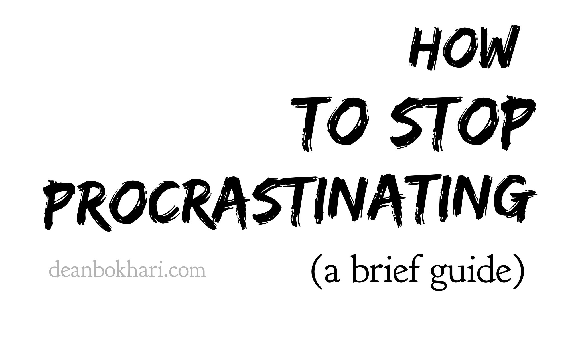 how_to_stop_procrastinating