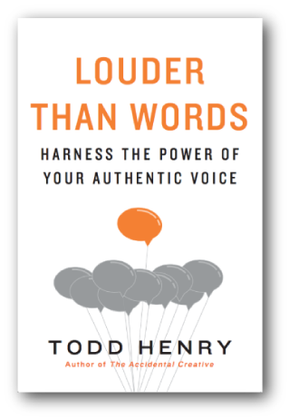 louder than words todd henry