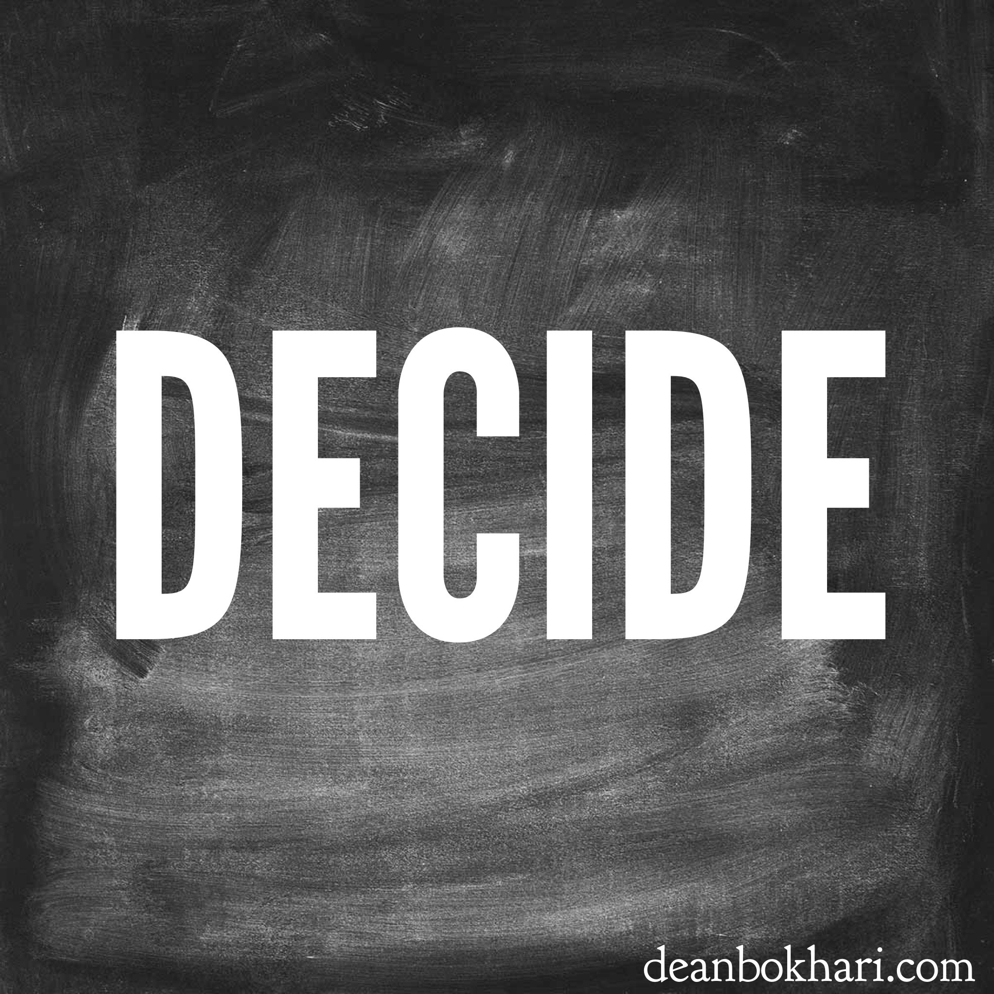 decide to cut off