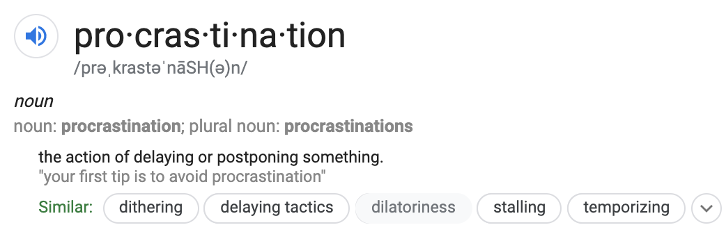 what_does_procrastination_mean