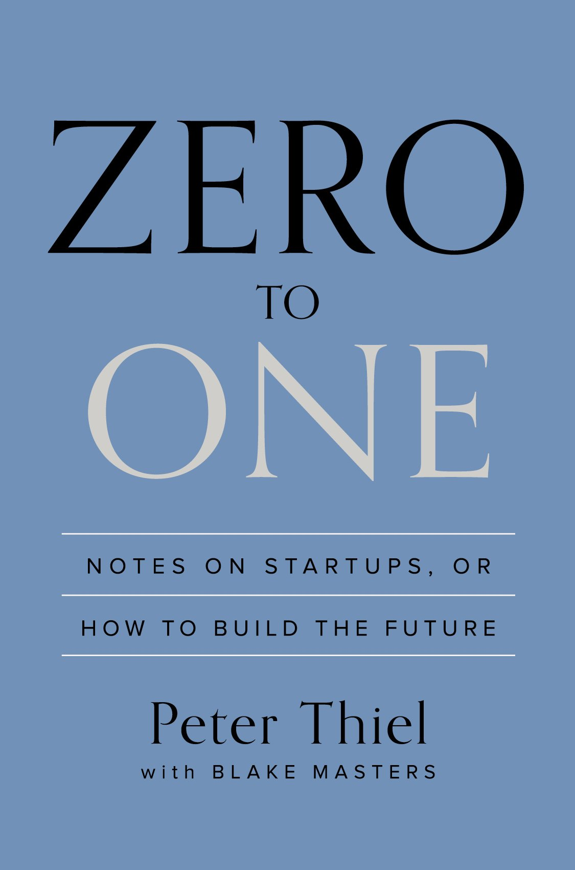 Zero To One Executive Book Summary